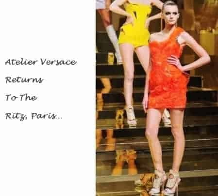 Atelier Versace Returns to the Ritz, FashionBite