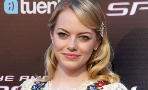 Emma Stone epitomises simple summer beauty in Madrid last week