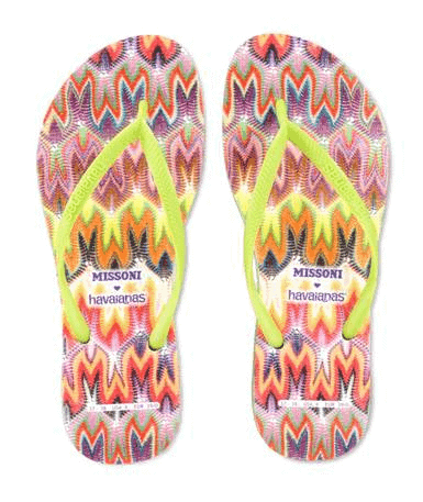 Missoni for Havaianas, FashionBite 1