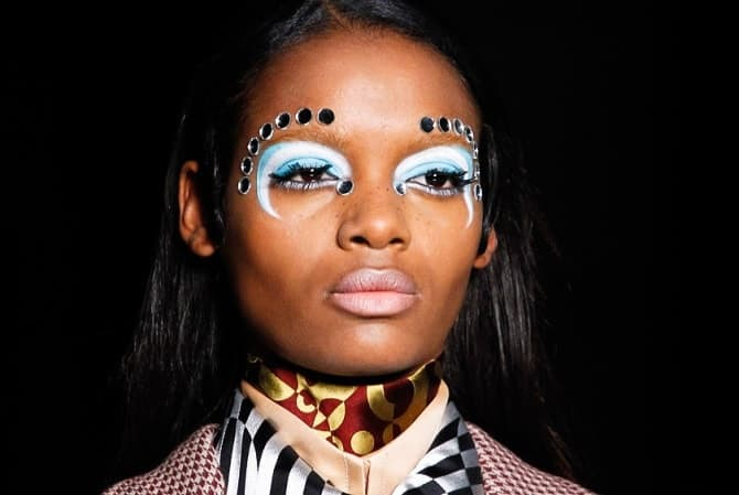 A/W Eyebrows at Miu Miu, FashionBite