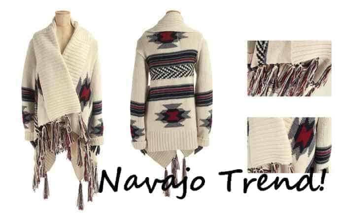 Navajo trend at FashionBite, new season