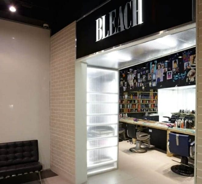 Bleach, Topshop Beauty Rooms, FashionBite