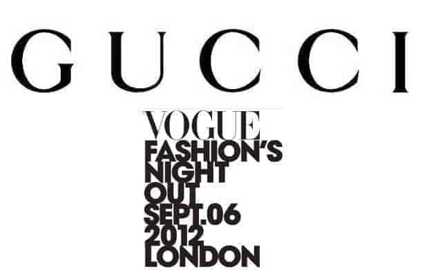 Fashion Night Out, FashionBite and Gucci at John Lewis Oxford Street