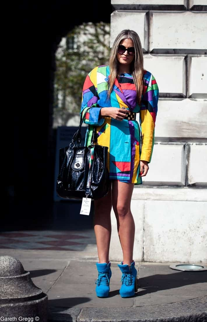 LFW SS13 Street Style London Fashion Week at FashionBite
