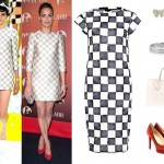 GET THE LOOK: Louis Vuitton Checkerboard (As Seen On Berenice Bejo)
